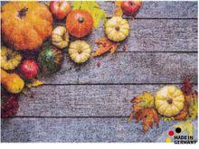 Fußmatte Abstreifer Schmutzfangmatte Motiv Herbst Kürbisse 50x70 cm waschbar