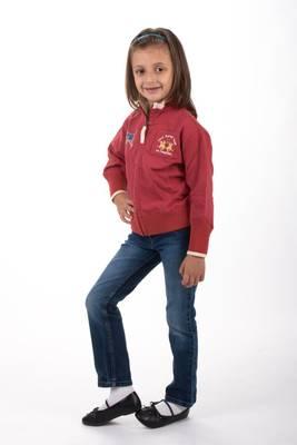 La Martina Kids Sweatjacke Indian Polo Team Rot F34