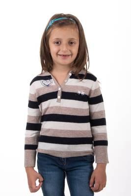 La Martina Kids Woll Pullover Palermo gestreift