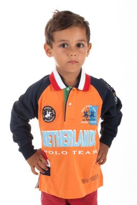 La Martina Kids Poloshirt langarm Holland Polo Team D32