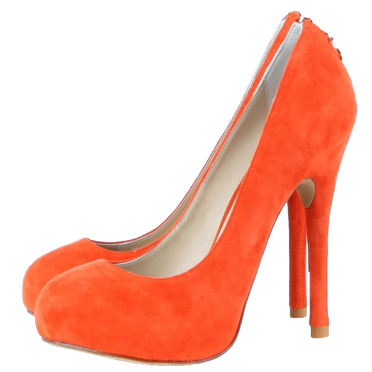 Janiko High-Heels Classics Pumps Tabu Coral red