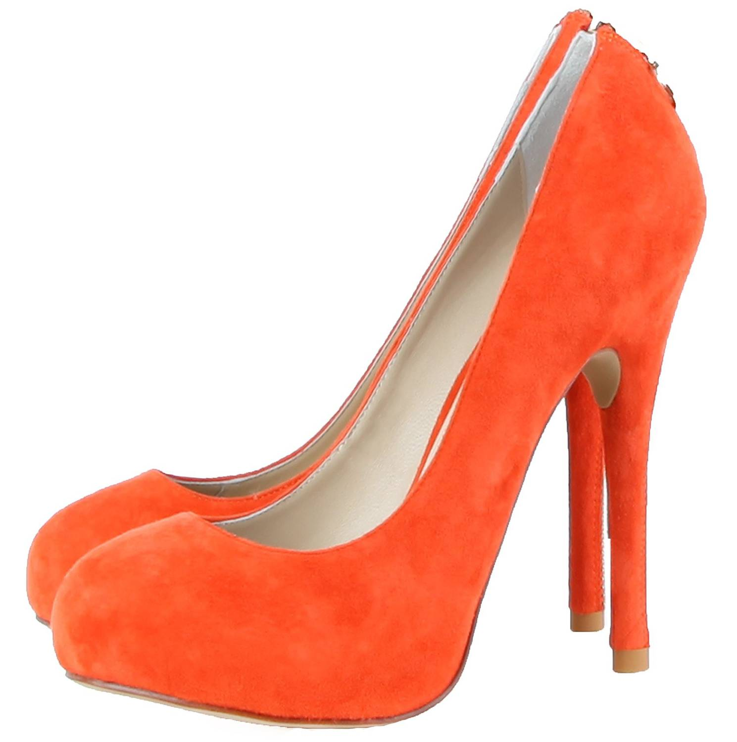 Janiko High-Heels Classics Pumps Tabu Coral red