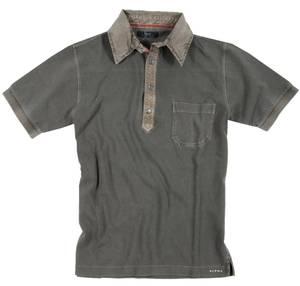 Alpha by Massimo Rebecchi Herren Polo Shirt ROVIGO 10041367-Khaki