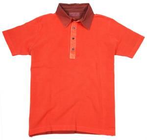 Alpha by Massimo Rebecchi Herren Polo Shirt TRENTINO 10041380-Hellrot