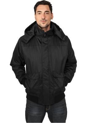 Urban Classics Mens Heavy Hooded Winter Jacket TB429