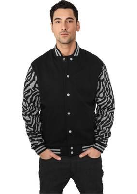 Urban Classics Herren 2-tone Zebra College Jacket TB505