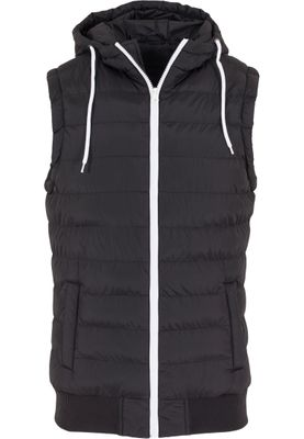Urban Classics Herren Small Bubble Hooded Vest TB510