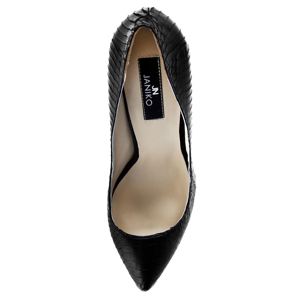 Janiko Women high heels Black MARABOU XB1016