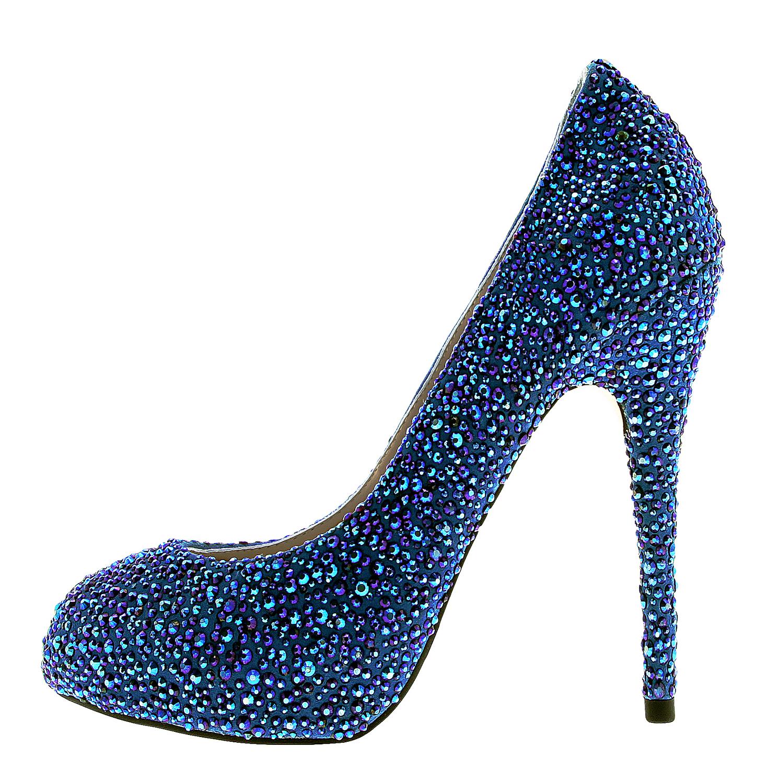 87d3b3ec2e81b8 Janiko Damen High Heels BOUJIS Blau XB1101