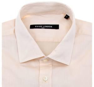 Guide London Hemd langarm Beige GL630L3-450