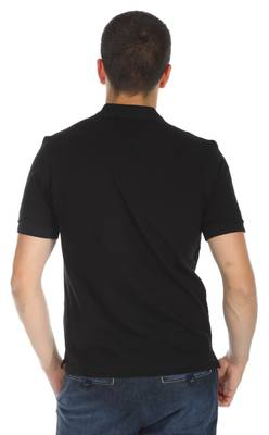 Hugo Boss Men Polo Shirtshort sleeves black 50182831