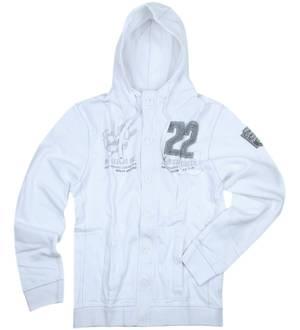 PME LEGEND Men Sweat Jacket long sleeves white PSW92404-900