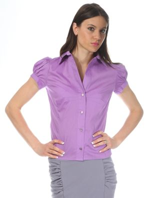 FIGL Damen Bluse Violett M026FIM-VIOLET