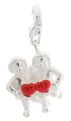 Heartbreaker Women Charm Silver Twins HB-HR-06