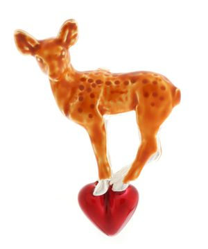 Heartbreaker Women Pendant Brown Bambi LD-BM 33-1