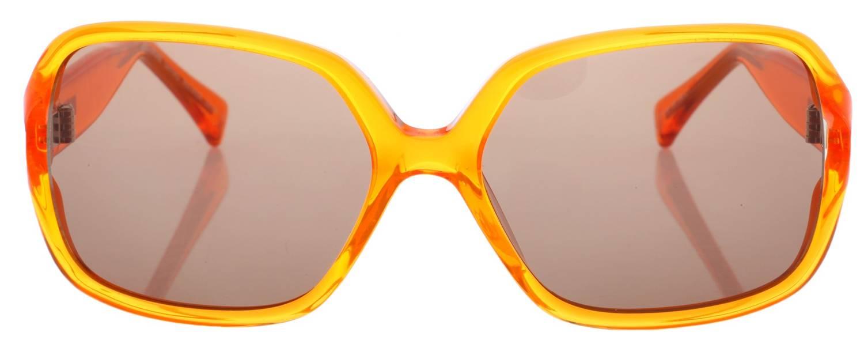 More and More Damen Sonnenbrille Lila Transparent 54355-900