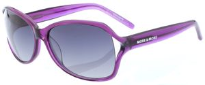 More and More Damen Sonnenbrille Lila Transparent 54359-900