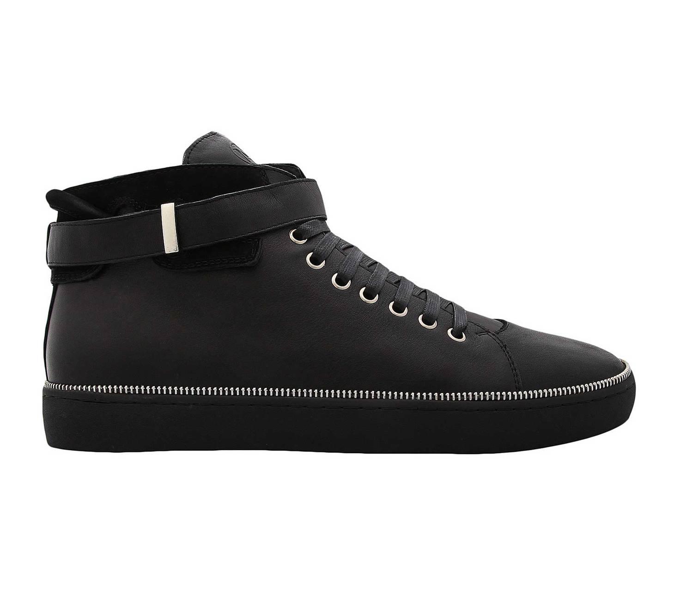 Janiko NOBU JA14X312-01 Herren High Top Sneakers Schwarz