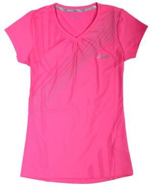 Asics Damen T-Shirt Neon Pink 612222-0263
