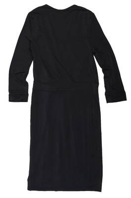 Isabel Queen Damen Kleid Schwarz 1688-BLACK