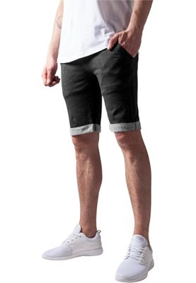 Urban Classic Herren Light Turnup Sweatshorts TB663