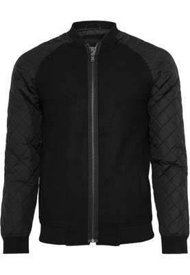 Urban Classic blk/blk Diamond Nylon Wool Jacket TB858