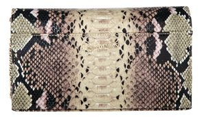 J. by Janiko DIYA JB1133 Damen Clutch Natur Snake print