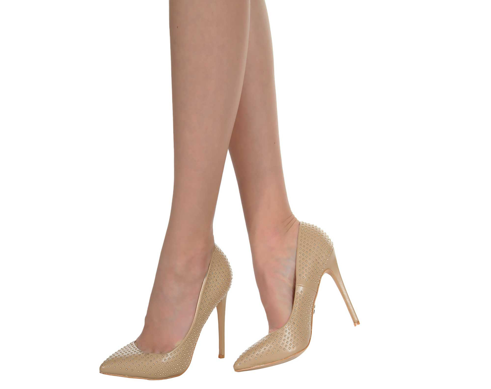 J. by Janiko Women High Heels NOOR Women Beige JBJ0032