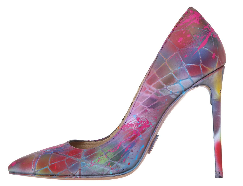 Janiko by Rezalution Color Instinct XBR022 Damen High-Heels Mehrfarbig