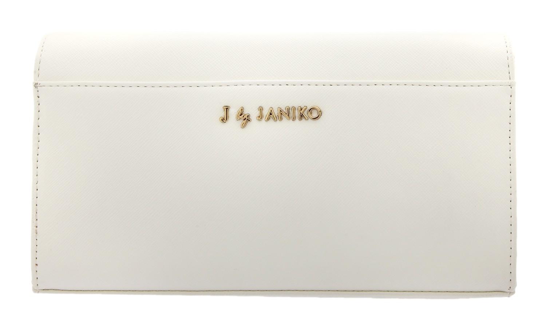 J. by Janiko DIYA Women Clutch White JB11312