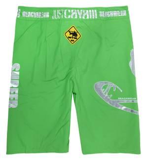 Just Cavalli Beachwear Herren Bermudas Grün A605-36C