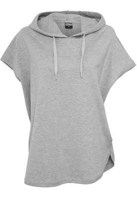 Urban Classics Damen Shirt Ladies Sleeveless Terry Hoody TB931