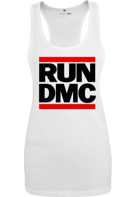 Mister Tee T-Shirts white Ladies Run DMC Logo Tank MT253