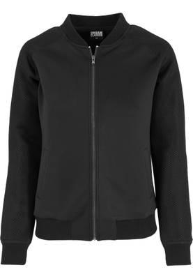 Urban Classics Damen Jacke Ladies Scuba Raglan Mesh Jacket TB1067