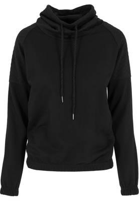 Urban Classics Damen Sweatshirts Ladies Quilt High Neck Crew TB1074