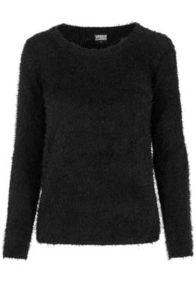Urban Classics Damen Sweatshirts Ladies Nylon Feather Crew TB1082