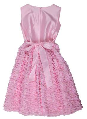 Lesy by Lisetta Cosi Girls Festive dress Baby Pink Knee-Length 10015014-005
