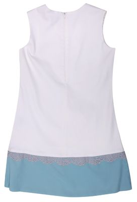 Blumarine Miss Blumarine Girls Summer dress White Knee-Length 345AB90-92204