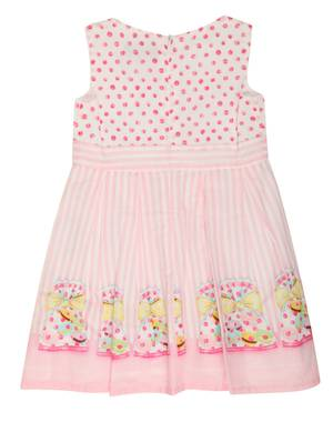 Blumarine Miss Blumarine Baby Jeans Girls Summer dress Pink Knee-Length 34GAB53-18710