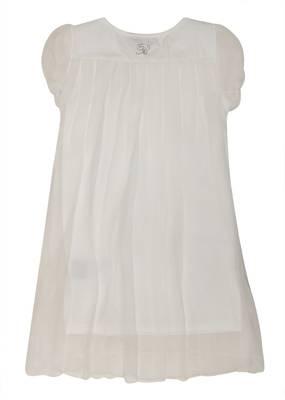 Blumarine Miss Blumarine Baby Mädchen Festliche Taufkleid Hochzeitskleid Weiß Knielang 347AB66-00010