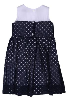 MONNALISA Bebé Girls Summer dress Dark blue Knee-Length 313918-0056