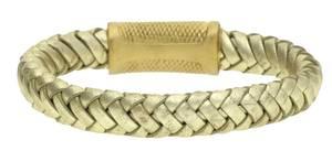 Police Damen Armband Leder Gold RAIDER PJ22045BLG-06-21