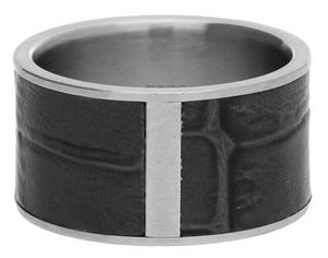 Esprit Men Ring Stainless steel silver/grey Wild Guy ESRG10989E
