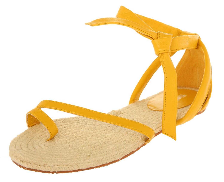 Gelb 701 Flop Damen Flache Flip Sandalen 20150 SVqUpMGz