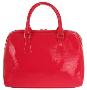Ilan Fernandez Damen Bowling Bag Pink LV02-RoseRed