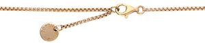 Esprit Collection Women Necklace 925 silver rose gold/white Algea ELNL92896B420
