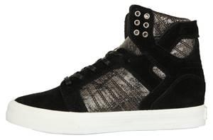 Supra Damen Sneakers SKYTOP WEDGE Black-White SW08000