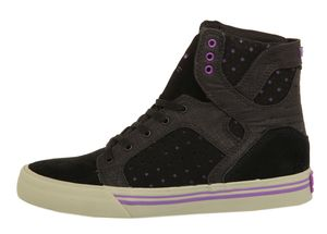 Supra Kids Sneakers Kids Skytop Black/Purple-Grey S13015K