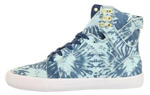 Supra Damen Sneakers WMNS SKYTOP Navy/Blue Wash-White SW18020