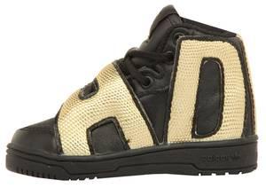 adidas Jeremy Scott Kids Sneakers JS LETTER GOLD I Schwarz/Gold M18991